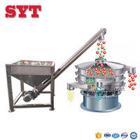 hot selling cocoa powder vibratory screen sieving machine in china