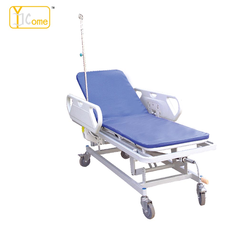 YKJ004 Patient Trolly for stretcher patient trolley for hospital use beautiful and good quality comfortable