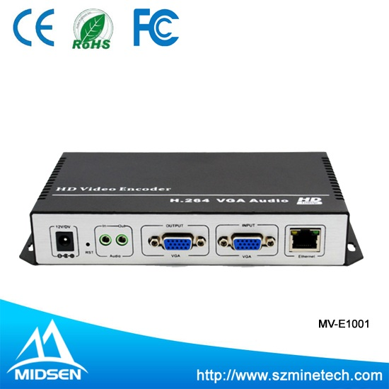 1 Channel VGA Encoder Iptv h.264 Hardware Hdmi To Ip Encoder For Live Streaming,Iptv