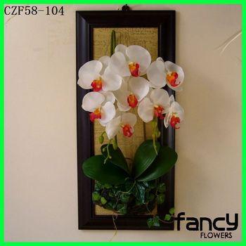 Decorativo Bonsai Flor Artificial Orquídeas Para La Venta Mariposa Orquídea Pared Colgante Flor Arreglo Buy Colgante Arreglo De Floresarreglos