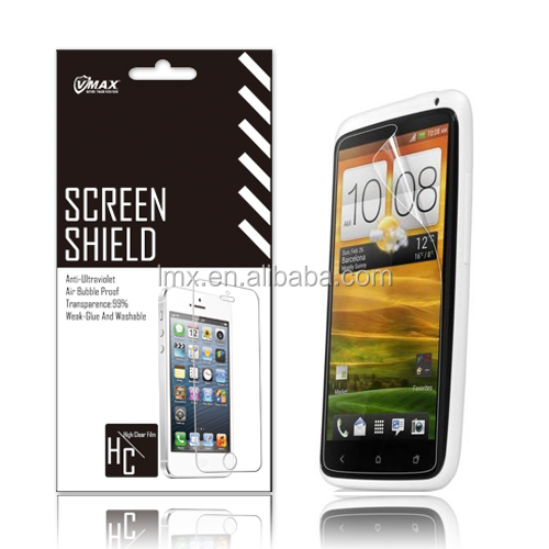 Hot selling for htc one x screen guards cell phon screen protector