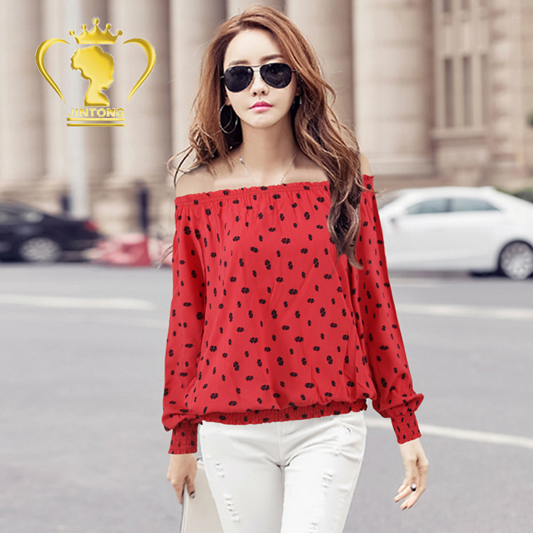 ac13c682ea7cc Latest Fashion Girls Blouses Patterns Designs Chinese Blouse - Buy ...