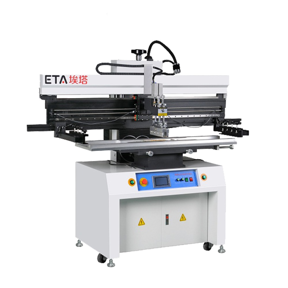 SMT Semi-Auto Printer P12 Soldeerpasta Printing Machine voor 1200mm PCB