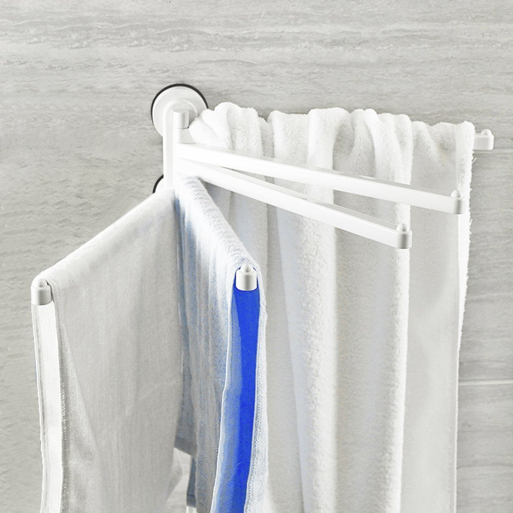 suction cup towel rack/ powerful suction-cup towel bar/Bathroom punching towels Towel Bar