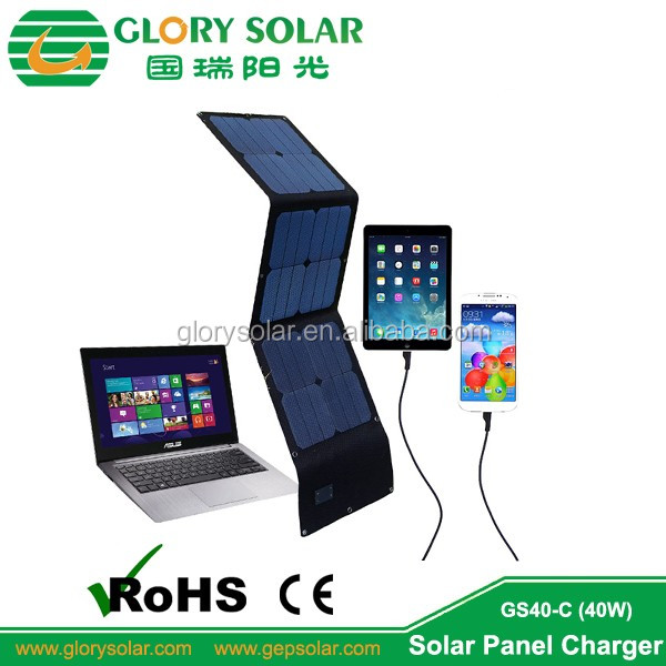 4W 6.5V Mobile Tablet Solar Trickle Charger With USB Port