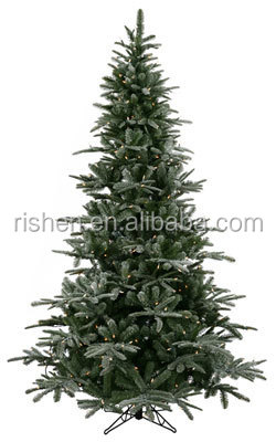 Dark color xmas tree 210 cm slim