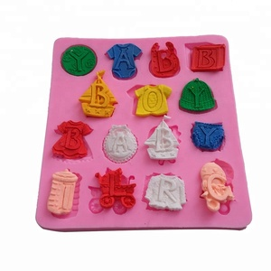 High Quality Wordart Letter silicon fondant mold/ Cake Decoration Mold