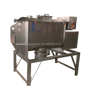 horizontal ribbon mixer powder mixing machine ribbon blender