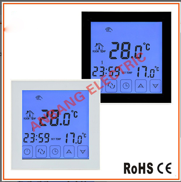 AnBang far infrared radiation electric touch screen digital WIFI floor heating thermostat