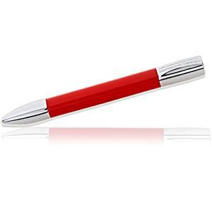 Porsche Design P3140 Shake Twist Salsa Red Ballpoint Pen