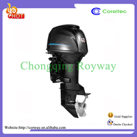 Recoil/Electric Control 2.5HP-60HP Remote/Rear Start 4 Stroke Water Cooling 60HP Chinese Outboard Motor
