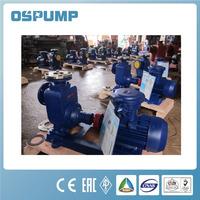 Self-priming fuel centrifugal pumps