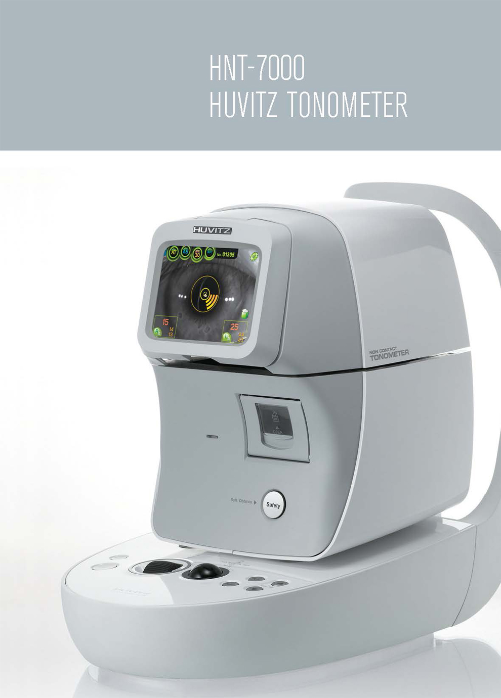 Ophthalmic Eye Non Contact Air Puff Tonometer