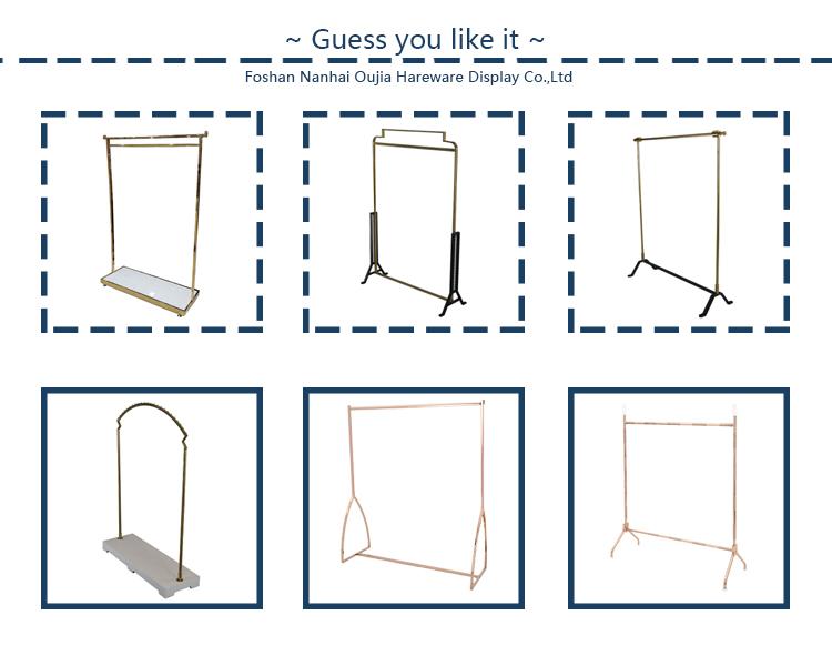 Neue Produkt Idee 2019 Kleiderbügel Shop Stehen Shop Kleidung Display Metall Stehen