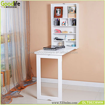 Furniture E Saving Wooden Wall Mounted Fold Out Table