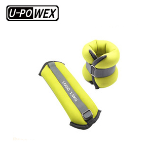 China Adjustable muscle training and running exercise Neoprene ankle wrist Weight in gym