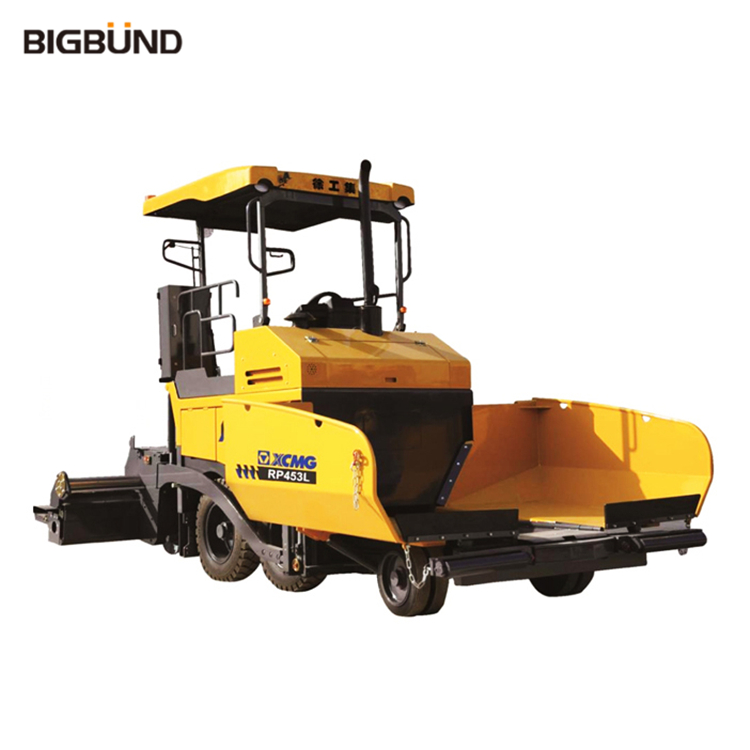 RP453L Bigbund Official Manufacturer 73.5KW Mini Road Paver Machine Asphalt Concrete Paver