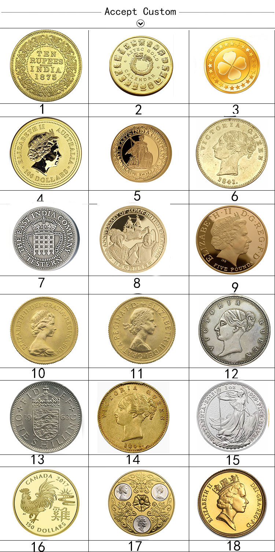 24 K Berlapis Emas BTC Edisi Terbatas Koleksi Bitcoin Koin Peringatan