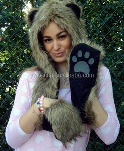 d712c9dc6e3 Bear Hat Gloves