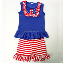 4th of july baby clothes set,girls st patricks day outfit,childrens boutique clothing with bibs M5040812