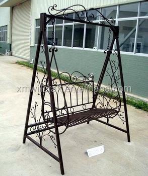 Fer Extérieure Jardin En Chaise Pour Forgé De chaise D'oscillation Double chaise Balançoire Extérieure Adultes Jardin Buy Y7y6bfg