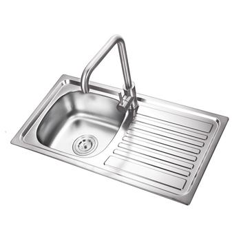 K E7639b Stainless Steel Sink With Drain Board Kitchen Sink
