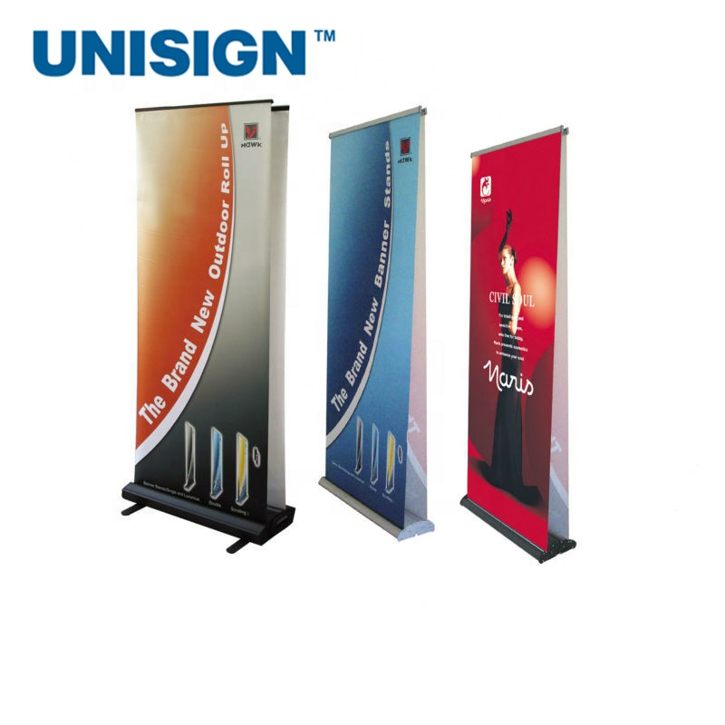 Goedkope Custom Printing Reclame Vlag Banners Roll Up Banner Stand