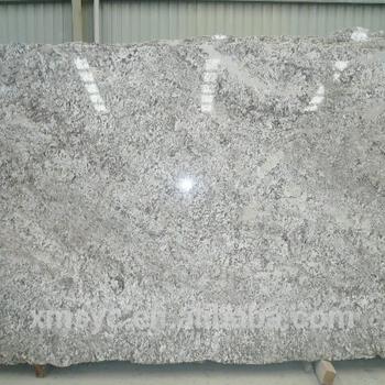 Fox Volant Snowy Mountain White Veins High Quality Granite Slab For Countertop