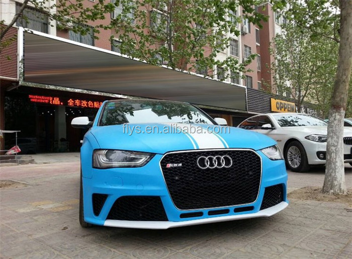 auto facelift RS4 body kit front bumper for A4. Plastic material. Tested fitment. good quality