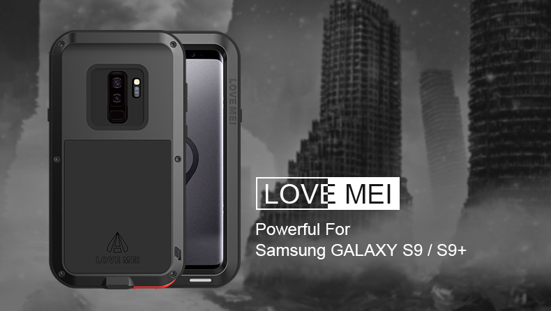 cheap for discount f4132 6a91f Love Mei Gorilla Glass Aluminum Shockproof Full Protect Aluminum Metal Case  For Samsung Galaxy S9 S9plus - Buy Love Mei S9 Metal Cover Case,S9 Plus ...