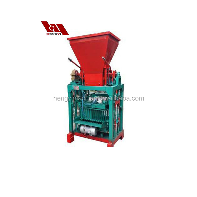 QT4-35 Kenya soil cement interlocking brick making machine