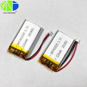 rechargeable battery 503035 Data power battery produce in Shenzhen 410mAh 5V