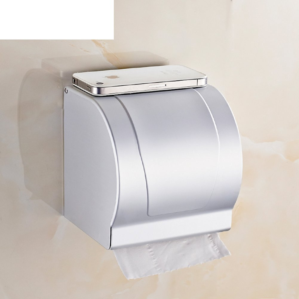 space aluminum Towel rack/Toilet tissue box/ bathroom toilet paper box/Hygienic tray/ waterproof toilet paper holder/ toilet roll holder-E