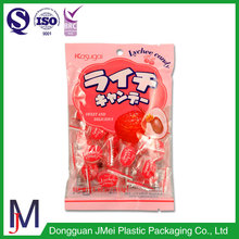 China factory food and candy Middle back seal bags