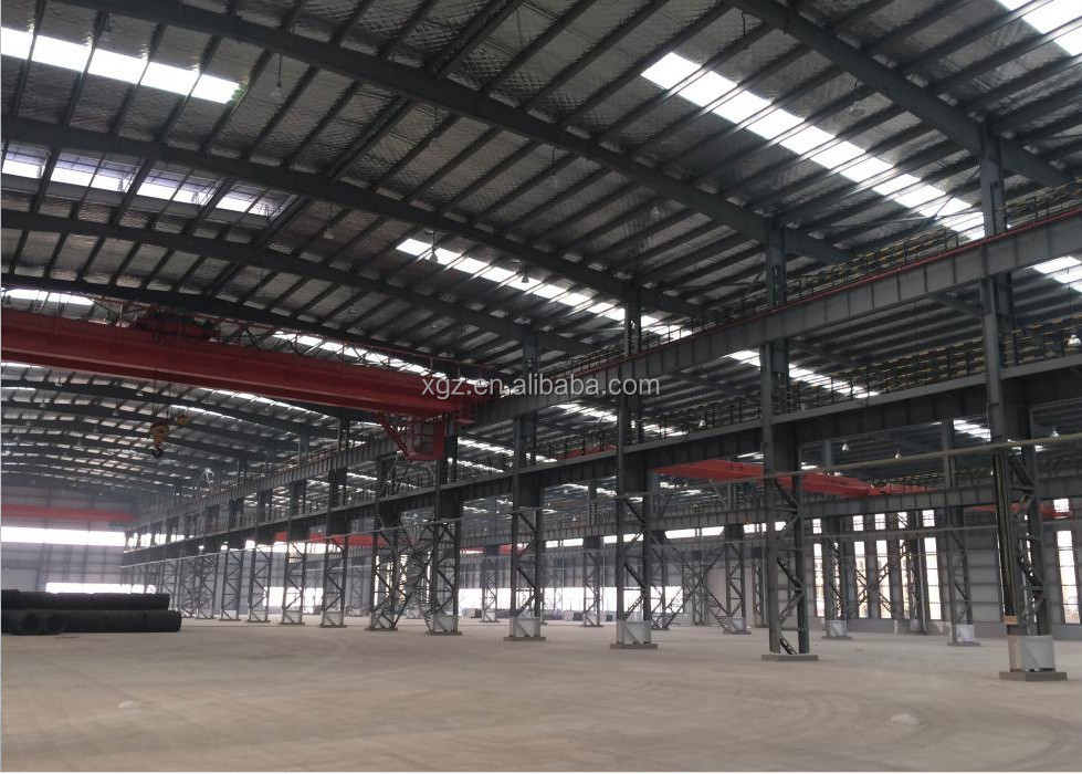 lLow cost prefabricated warehouse 2016 design