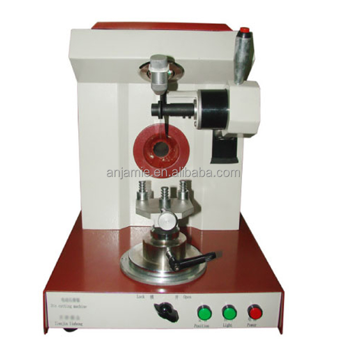 Dental laboratory separator die cutting machine for separation of plaster model