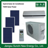 90% ACDC hybrid professional quiet 9000btu 12000btu package solar heating and air conditioning units