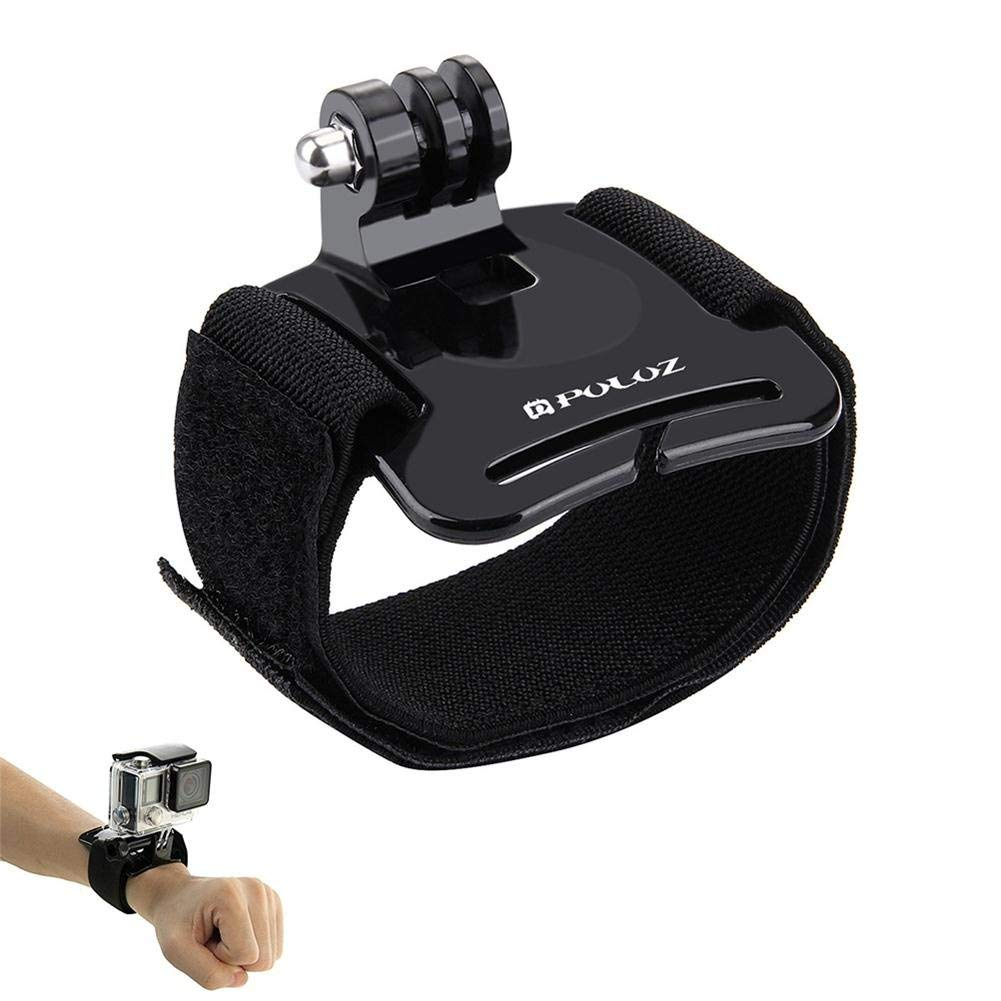 Joint Victory Adjustable Wrist Strap Mount for GoPro HERO6/5/4 Session/4/3+/3/2/1,Xiaoyi and Other Action Cameras