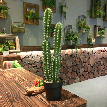 Fake House Cactus Plants For Home Decoration