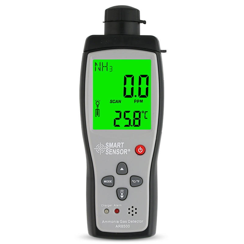 Portable 0-100PPM Ammonia meter NH3 <strong>Gas</strong> Detector with Sound Light Alarm for farm
