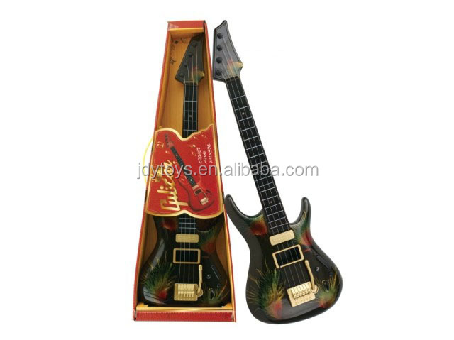 Hot selling firework pattern plastic play guitar musical instrument toy,plastic play guitar toy,musical toy