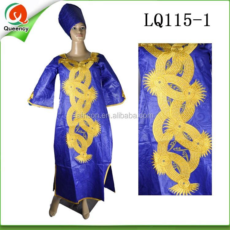 Bazin Bazin Femmes Robes Riche Robe Mode Lq113 1 Pour Pour Africaine 5xq1wO