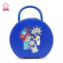 New Style Lady Genuine Leather Embroidery Bag