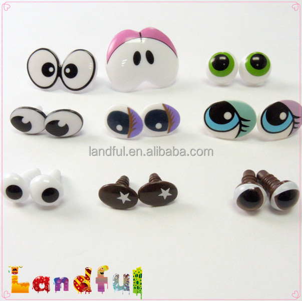 Safety Eyes Amigurumi Malaysia : Toy Safety Oval Printed Eyes Comic Eyes Animal Eyes For ...