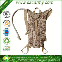 3L digital camo hiking waterproof custom hydration pack with TPU water bladder bag