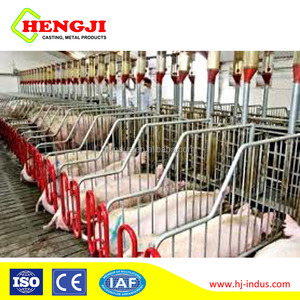 High strength livestock equipment cast iron floor grates for pig farrowing