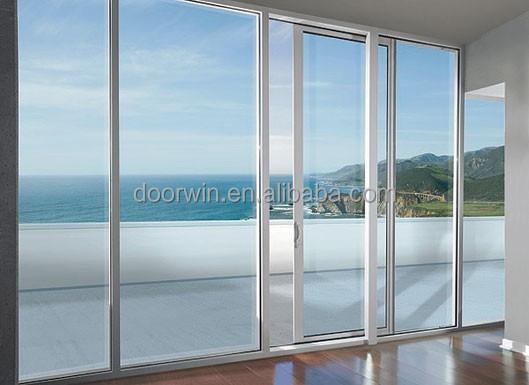 De aluminio del balc n puerta corredera de cristal con - Puerta de aluminio con cristal ...