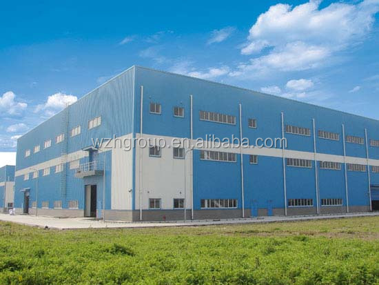 prefabricated steel building / warehouse / steel structure hotel / living house