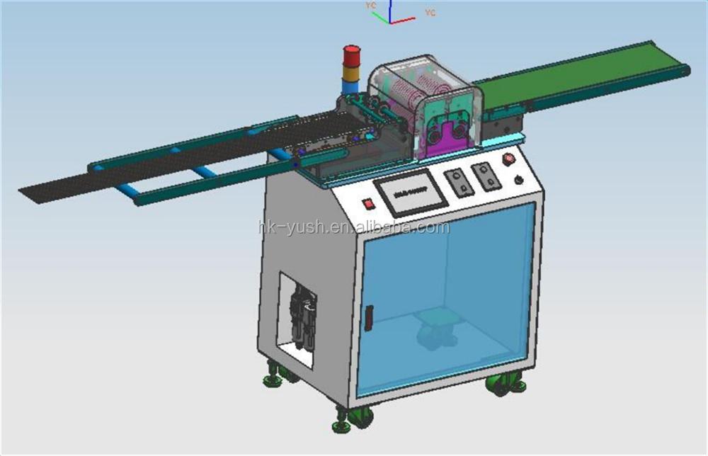 LED Aluminum board multi groups blade PCB separator , LED pcb Depaneling-Machine. Multiple blades PCB Cutting machine YSVJ-650