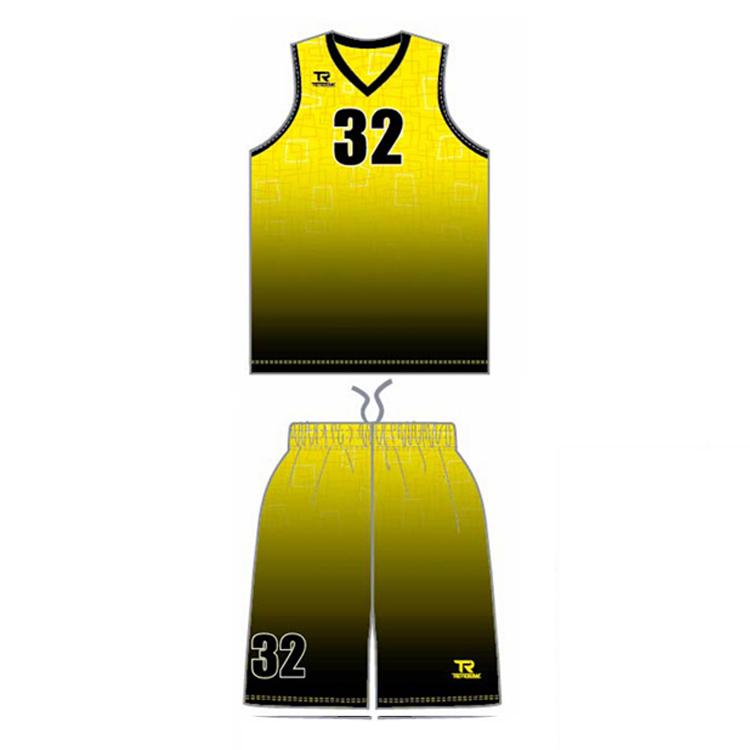 Sublimation Custom Basketball Uniform Design 2018 Latest